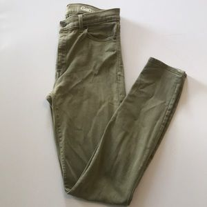 *MOVING SALE* Gap High waisted, garment dyed jeans